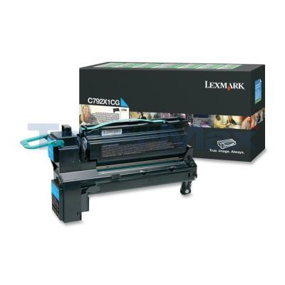 LEXMARK C792 PRINT CARTRIDGE CYAN RP 20K